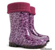 Гумові чоботи DEMAR TWISTER LUX PRINT o (Аметист), купити в Херсоні
