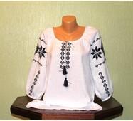 """женская рубашка с вышивкой  """"словянские символы - обереги"""". Ручная работа"""