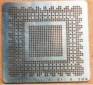 BGA трафарет 0,5mm Nvidia NF790IU SLI N B1