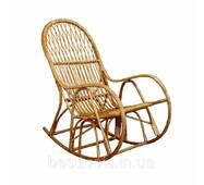 Кресло-качалка «Семья» из лозы