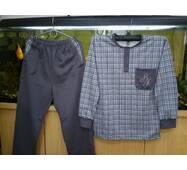 Комплект домашній чоловічий (кофта+брюки) начес