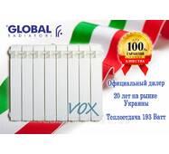 Алюминиевый радиатор Global Oscar Tondo 1000 (Италия)