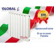 Биметаллический радиатор Global Style 500/80 (Италия)
