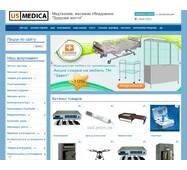 Готовый сайт для продажи медтехники, массажного оборудования