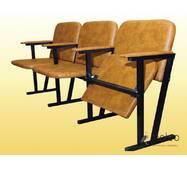Крісло для актового залу, м'яке, 3-місне