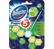 """Средство для унитаза Domestos Power 5 """"Лимонная свежесть"""" формула 5 в 1"""