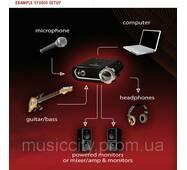 Line 6 GX POD STUDIO USB 2.0 интерфейс для подключения гитары, 1 вход, 1 выход, 29 эффектов