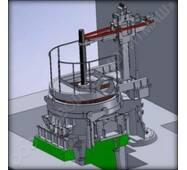 Дуговая сталеплавильная печь постоянного тока ДСПТ  купить в Украине