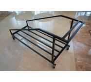 Тележка для складных столов диаметром 1500 мм.