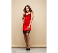 Женское пеньюар Камелия красный