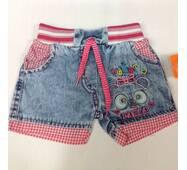 Детские шорты для девочки оптом 1-4 года