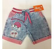 Детские шорты для девочки оптом 5-8 лет