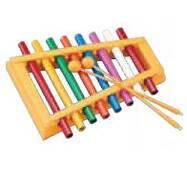Maxtone WX 03 ксилофон, 8 нот, палички в комплекті