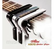 Alice A007D - A каподастр для акустичної гітари, метал