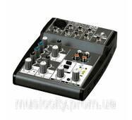 Behringer XENYX 502 пульт мікшера, 1 моно   2 стерео каналу