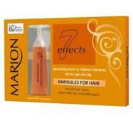 Ампули для волосся з аргановою олією Marion, 5*7 мл