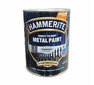 Краска Хаммерайт белая полуматовая 2,5л.