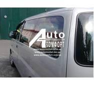 Задний салон, короткая база, левое окно на автомобиль Hyundai H-1 I (H-200) (97-07) (Хюндай H-1 I (H-200) (97-07)