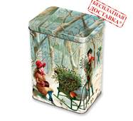 """Солодкий новорічний подарунок """"Зимовий ліс"""" 700 гр."""