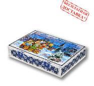 """Солодкий новорічний подарунок """"Зимова коляда"""" 800 гр."""