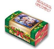 """Солодкий новорічний подарунок """"Зимовий вечір"""" 500 гр."""