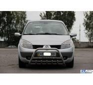 Кенгурятник WT004 (нерж.) - Renault Scenic 2003-2009 рр. купити в Черкасах