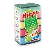 Кухонные губки Hippo 5 шт, Польша