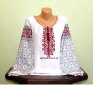 Женская рубашка, вышитая старинным узором