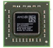 Процессор AMD E-450 (Zacate, Dual Core, 1.65Ghz, 1Mb L2, TDP 18W, Radeon HD6320, Socket BGA413 (FT1))