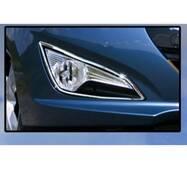 Хром на противотуманки (2 шт., нерж.) - Hyundai I-40 купить в Харькове