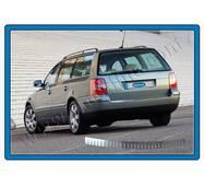 Volkswagen Passat B5 SW накладка на задній бампер глянсова OmsaLine купити в Ужгороді