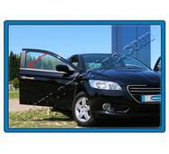 Окантовка скла (без задньої кватирки, 6 шт., нерж.) - Peugeot 3008 2008-2016 рр. купити в Чернігові