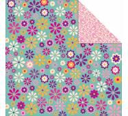 Лист скрап бумаги Kaisercraft Daisy Chain 30х30 см (883416109044)