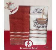 Кухонный набор полотенец Beautiful Rose 50x70