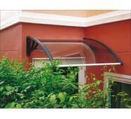 Захисний дашок (козирьок) ТМ TanDen з монолітним полікарбонатом 4мм 1500*930*280