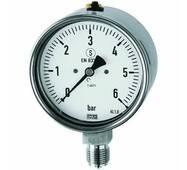 Pressure gauges (CrNi steel type / safety housing) - K - MANO 1