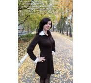 Школьное платье коричневое, купить в Украине