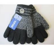 Теплі рукавички з емблемою для хлопчиків.