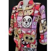 Детские махровые пижамки с карманами