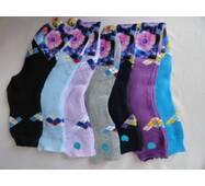 Махрові шкарпетки жіночі різних кольорів