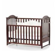 Ліжко дитяче Соня ЛД3 без колiс, на нiжках (горiх)