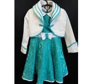 Купить праздничные платья с пиджаком для девочек.