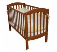Ліжечко дитяче Соня ЛД10 без колiс, на нiжках (вsльха)