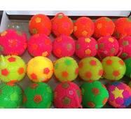 Мяч йойо футбол с резинкой / маленького размера