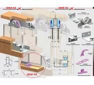 Розсувна система для шаф верхнього спирання SKM43К
