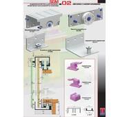 Розсувна система для шаф верхнього спирання SGM02