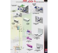 Розсувна система для шаф верхнього спирання SGM03-1