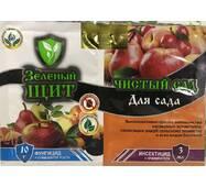 Зелений щит «Чистий сад» для яблунь і груш 3 мл + 10 г