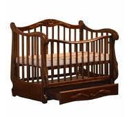 Ліжко Колисани Корона горіх