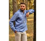 Стильная мужская вышиванка Модель: М19/1-273